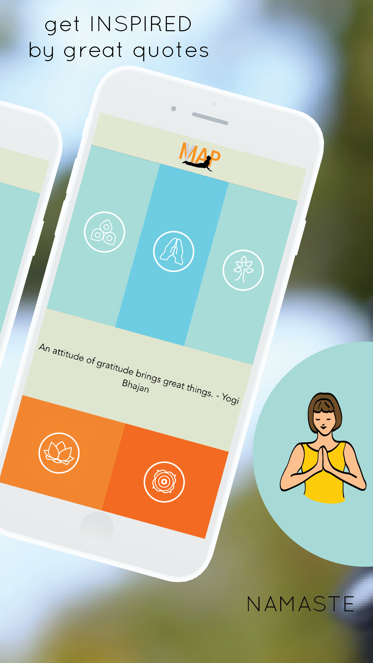 yogamap app - 7 minute yoga exercises, poses, meditation, breath and progress tracking